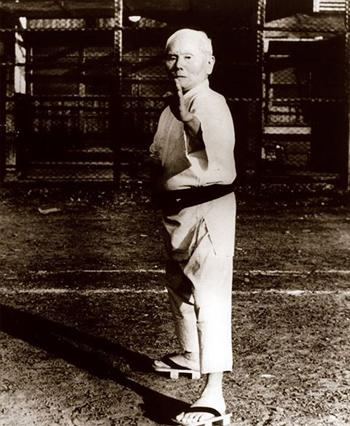 History of karate funakoshi-shuto