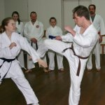 Victorian karate clubs hamilton-dojo-training-shot