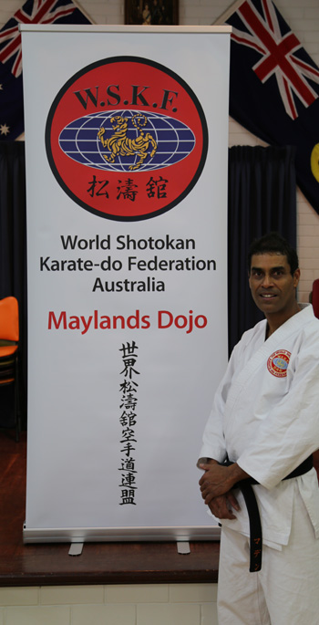 Western Australian karate instructors - Mark Madden