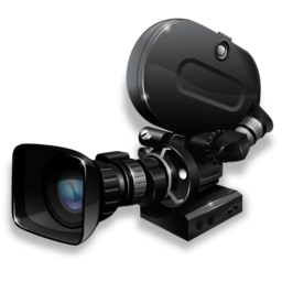 karate videos - movie camera