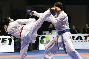 History of karate Sport