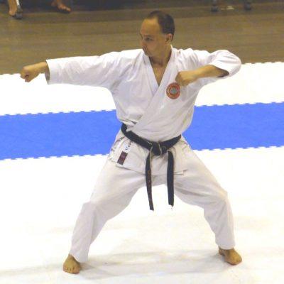 Victorian karate instructors - Stephen Hol Kata
