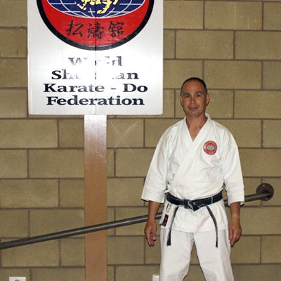 Victorian karate instructors - Stephen Hol picture