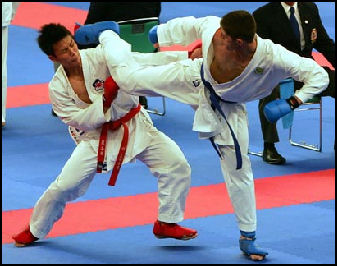Men Sports karate
