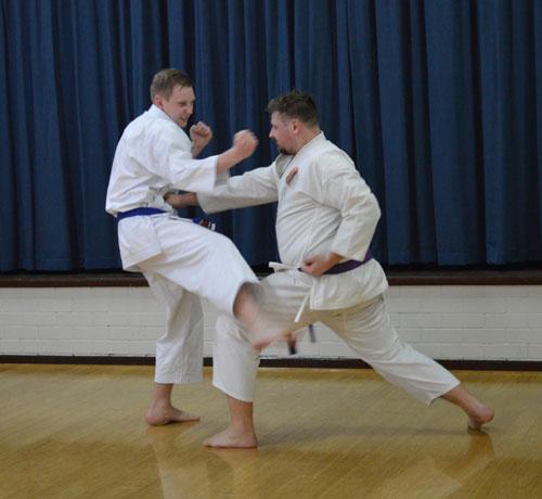 learn about shotokan karate - fighting