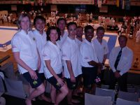 Aussie team prior to the 2007 WSKF World Championships Tokyo