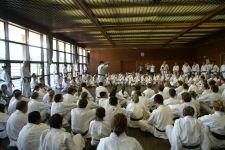 Kasuya Sensei giving detailed explanations at the training seminar in Japan 2007