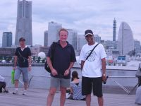 Sensei Howard and Sensei Mark in Yokohama after the 2009 WSKF World Chamionships