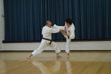 Sensei Howard & Rezah kumite 1-kumite-1
