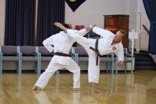 Sensei Howard & Rezah kumite 4