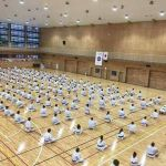 Participants of the 2017 International Training Seminar with Kasauya Sensei 2