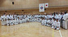 Participants of the 2017 International Training Seminar with Kasauya Sensei