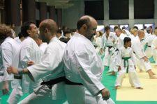 Sensei Osmar enjoying training TOKYO 2017